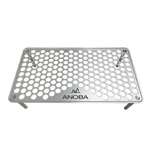 ANOBAアノバULソロテーブルパンチングAN001(収納袋付き)(アウトドアテーブル)(快適家電デジタルライフ)