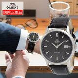 オリエント メンズ腕時計 正規品 送料無料 日本製 ORIENT 腕時計 受注生産モデル 自動巻き SER27006B0 メカニカル (文字盤:ブラック、革バンド(レザーバンド):ブラック)