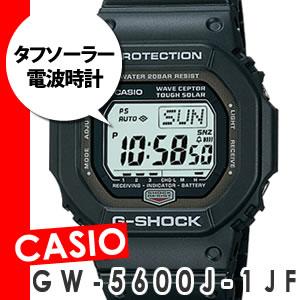 ※10月上旬生産見込 カシオ G-SHOCK(Gショック) GW-5600J-1JF 【ソーラー電波時計】【送料無料...