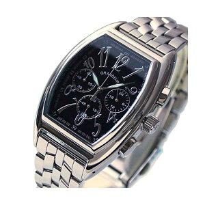 【正規輸入品】(グランドール)GRANDEUR 腕時計 JGR003W2 メンズ 日本製 トノー型 クロノグラフ(ステンレスバンド クオーツ 多針アナログ)(快適家電デジタルライフ)