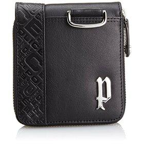 POLICE(ポリス)CIRCUIT二つ折り財布PA56102-10(ブラック)【正規輸入品】