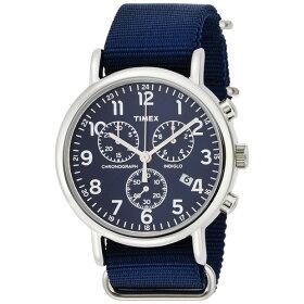 TIMEX(タイメックス)【正規輸入品】【腕時計】WeekenderChrono(ウィークエンダークロノグラフ)TW2P71300ブルー/ブルーナイロンバンド【メンズ】【き手数料・送料無料】【メール便】
