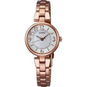 【国内正規品】【腕時計】AGEK431WIREDf[ワイアードエフ]【クオーツステンレスバンドバンドアナログ表示レディース】【メール便】