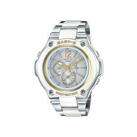 【国内正規品】CASIO(カシオ)【腕時計】BGA-1400CA-7B3JFBABY-G[ベビーG][BGA1400CA7B3JF]【タフソーラー電波コンポジットバンドアナデジレディース】【ホワイト】