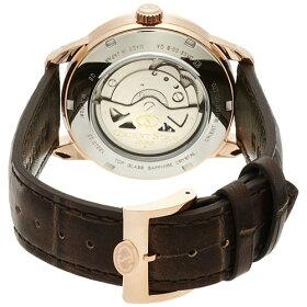 【国内正規品】ORIENT(オリエント)【腕時計】WZ0211DAOrientStar[オリエントスター]【セミスケルトン機械式自動巻き(手巻き付き)文字盤:アイボリーベルト:ブラウン多針アナログ表示革バンド】