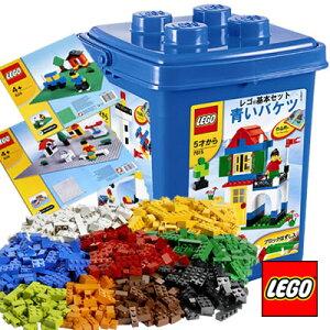 LEGO(レゴ) 青いバケツ & 基本ブロック(XL) & 基礎版2組(緑・灰)(対象年齢5歳以上)【送料無料】...