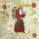 [Punch Studio]パンチスタジオ ペーパーナプキン[メール便OK] クリスマス リスト サンタランチサイズ2枚入りパンチスタジオ・クリスマス