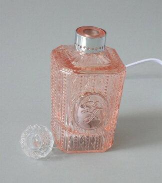 アロマランプ 香水瓶 ピンク [KISHIMA]キシマ・電気スタンド・ランプ・アロマライト