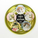 マグネット5Magnets Persane[Les Cakes de Bertrand]レケークドゥベルトラン磁石・パリ・猫・cat・ネコ