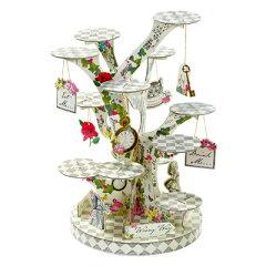色鮮やかなケーキスタンド♪ツリー型ケーキスタンド アリス [Talking Tables]トーキングテー...