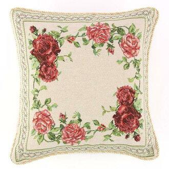 靠墊壁飾掛毯編織玫瑰圈 [其它] 內政和生活方式的小玩意玫瑰,玫瑰,玫瑰
