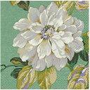 C-318 3枚ペーパーナプキン White roses ホワイトローズランチサイズ[paper+design]ペーパーデザインフラワー・ローズ・白