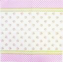 ペーパーナプキン[メール便OK] ランチサイズ 薔薇 ドット下地 [Daisy]5枚入りペーパーナフキン・紙ナプキン・デコパージュ