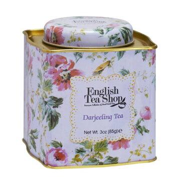 ダージリンティー フラワ−缶 茶葉85g 紅茶 クラシック フェアトレード イングリッシュティーショップ [English Tea Shop]紅茶・ギフト・プレゼント