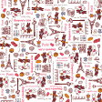 ペーパーナプキン[メール便OK] リサとガスパール・パリのお散歩 ピンク5枚入り[天満紙器]紙ナプキン・Rilakkuma