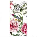 ペーパーナプキン[ポケットサイズ] Michel Design Worksピオニー シャクヤク 鳥 PEONY[ミッシェルデザインワークス]ドイツ製 ハンキー・ナフキン・紙ナプキン