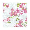 ペーパーナプキン 開花する 枝  10枚Caspariカスパリ  ランチサイズ ピンク花 アジアンテイスト