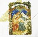 [Punch Studio]無地カード S キリストの誕生★デザイン封筒付き★ パンチスタジオ2012クリスマスコレクション・立体メッセージカードエンジェル・天使