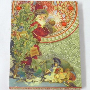 [Punch Studio]ノートパッド ミニメモ サンタキャンドル731-827-49パンチスタジオ クリスマス731-827-49