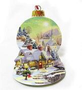 ポップアップ グリーティングカード クリスマス カレッジ クリスマスカードクリスマスポップアップカード