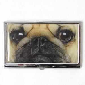 2012年新作♪カードケース パグ アップ[Catseye][犬グッズ 犬雑貨]741-832ステーショナリー...