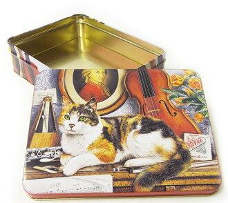[精英] 可以案例大罐 Bioline 貓 L 存儲錫的貓,貓,貓