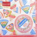日本食品衛生法規格品ペーパーナプキン[メール便OK] 10枚入りチーズラベル【Aimez le style】エメルスタイル【その他】ペーパーナフキン・紙ナプキン・デコパージュ