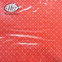 ペーパーナプキン[メール便OK]ランチサイズ ドッティーレッド[IHR]ドイツ 紙ナプキン・ペーパーナプキン
