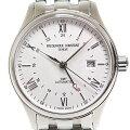 フレデリックコンスタント メンズ腕時計 クラシック インデックス オートマティック GMT FC-350S5B6B ホワイト(白)文字盤 自動巻き 未使用品