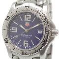 TAG HEUER タグホイヤー メンズ腕時計 プロフェッショナル WT1213 ブルー文字盤 クォーツ【中古】