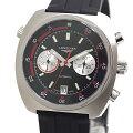 LONGINESロンジンメンズ腕時計ヘリテージダイバーL2.796.4.52.9ブラック(黒)文字盤自動巻き【中古】