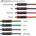 AXFアクセフカラーバンドBLネックレス