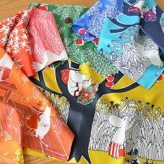 北欧マリメッコのデザイナーでもある鈴木マサル氏が紡ぎ出すムーミンのハンカチ 北欧パネル/50...