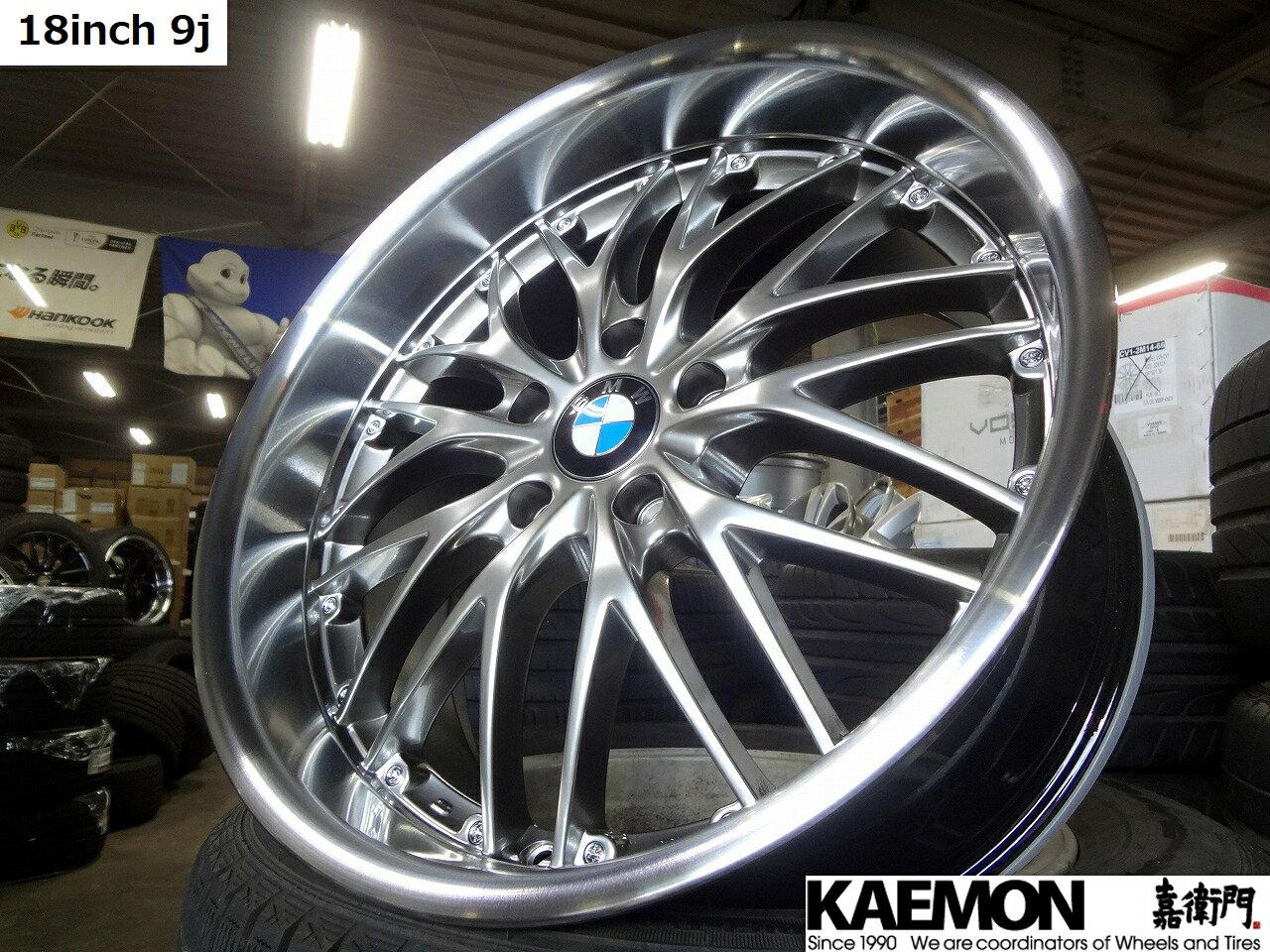 タイヤ・ホイール, サマータイヤ・ホイールセット 4SETK-Force Tief BMW 18 8j35 9j42 PCD1203E90 F304F32Z4E89