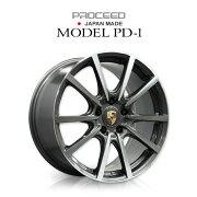 【日本製】ポルシェ専用ホイール4本セットPROCEEDMODELPD-01【Porscheポルシェホイール】