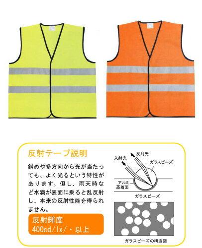 【36%OFF】AZ-8701トリコットベスト安全対策セーフティパトロール