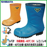 冷蔵庫用安全長靴 シバタ工業 冷蔵庫長-40℃ DX