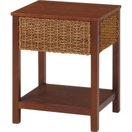 サイドテーブル おしゃれ アジアン アバカ製アジアンリゾート風サイドテーブル 角 グランツ 幅40cm ナチュラル RT-1982NA サイドテーブル ソファサイドテーブル ナイトテーブル コーヒーテーブル テーブル 収納 アジアン家具 rt-1982na