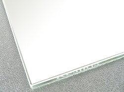 国産 スーパークリアーミラー (高透過 超透明鏡)(防湿 防錆加工)(5ミリ厚)(四角形)(糸面取り加工) 鏡 ミラー 板鏡 カット サイズカット 特注:1219mmx610mm(鏡板 ガラス鏡 鏡ガラス洗面所 トイレ 洗面 洗面鏡 トイレ鏡 防錆 防湿 浴室):鏡 ミラー 洗面 インテリア IVY
