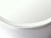国産 スーパークリアーミラー(高透過 超透明鏡)(5ミリ厚)(円形)(15ミリ面取り加工) 鏡 ミラー 板鏡 カット サイズカット 特注:1219mmx457mm(鏡板 ガラス鏡 鏡ガラス洗面所 トイレ 洗面 玄関 洗面鏡 トイレ鏡):鏡 ミラー 洗面 インテリア IVY