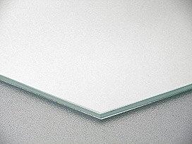国産 スーパークリアーミラー (高透過 超透明鏡)(防湿 防錆加工)(5ミリ厚)(八角形)(糸面取り加工) 鏡 ミラー 板鏡 カット サイズカット 特注:1524mmx305mm(鏡板 ガラス鏡 鏡ガラス洗面所 トイレ 洗面 洗面鏡 トイレ鏡 防錆 防湿 浴室)