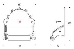 トイレペーパーホルダー・トイレットペーパーホルダー:g-6g4032k1