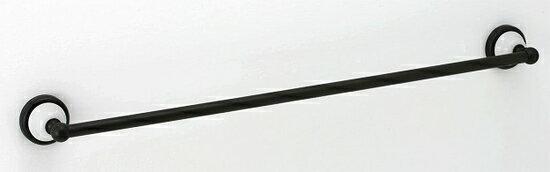 タオルハンガー 幅68 全幅74.2cm タオル掛け タオルバー タオルかけ タオルレール 壁 アイアン 真鍮 アンティーク レトロ おしゃれ 北欧 トイレ 洗面所 キッチン 黒 黒色 ブラック仕上げ バスタオル