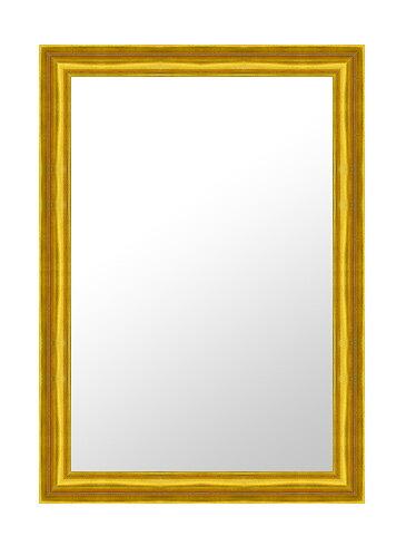 鏡 ミラー 壁掛け鏡 壁掛けミラー ウオールミラー の サイズオーダー サイズ 特注:E-733G金(フレームミラー 壁掛け 壁付け 姿見 姿見鏡 壁 おしゃれ エレガント 化粧鏡 アンティーク 玄関 玄関鏡 洗面所 トイレ 寝室 )