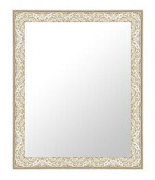鏡 ミラー 壁掛け鏡 壁掛けミラー ウオールミラー の サイズオーダー サイズ 特注:18-6566銀(フレームミラー 壁掛け 壁付け 姿見 姿見鏡 壁 おしゃれ エレガント 化粧鏡 アンティーク 玄関 玄関鏡 洗面所 トイレ 寝室 )