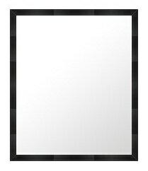 鏡 ミラー 壁掛け鏡 壁掛けミラー ウオールミラー の サイズオーダー サイズ 特注:B-10007黒(フレームミラー 壁掛け 壁付け 姿見 姿見鏡 壁 おしゃれ エレガント 化粧鏡 アンティーク 玄関 玄関鏡 洗面所 トイレ 寝室 )