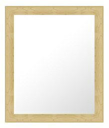 鏡 ミラー 壁掛け鏡 壁掛けミラー ウオールミラー の サイズオーダー サイズ 特注:D-10019木地(フレームミラー 壁掛け 壁付け 姿見 姿見鏡 壁 おしゃれ エレガント 化粧鏡 アンティーク 玄関 玄関鏡 洗面所 トイレ 寝室 )