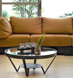 ガラス・テーブル、リビングテーブル、センターテーブル、コーヒーテーブル、ローテーブル:AR-MT-015