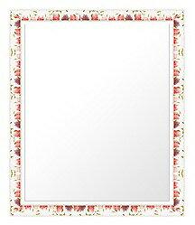 ユニークな色 の 鏡 ミラー 壁掛け鏡 壁掛けミラー ウオールミラー:sv1270wh-w377mmxh479mmxd20mm-se(フレームミラー 壁掛け 壁付け 姿見 姿見鏡 壁 おしゃれ エレガント 化粧鏡 アンティーク 玄関 玄関鏡 洗面所 トイレ 寝室 )