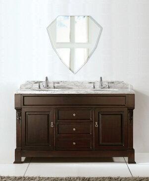 洗面鏡 浴室鏡 トイレ鏡 化粧鏡 日本製 シールド(盾形) 450mm×470mm クリアーミラー クリスタルカット 国産 フレームレスミラー 風呂 鏡 壁掛け鏡 壁掛けミラー ウオールミラー 姿見 姿見鏡 ミラー